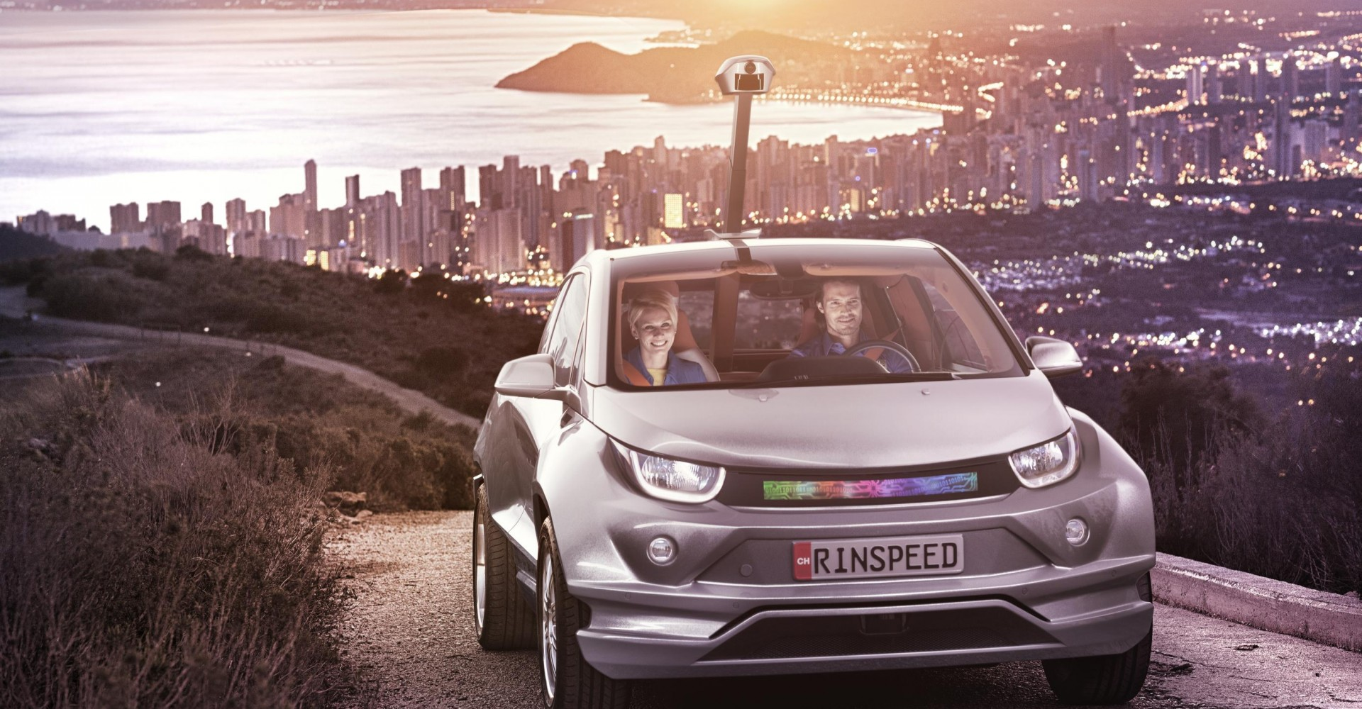 Rinspeed 'Budii' Is The Periscope-Equipped BMW i3 Of Your Nightmares