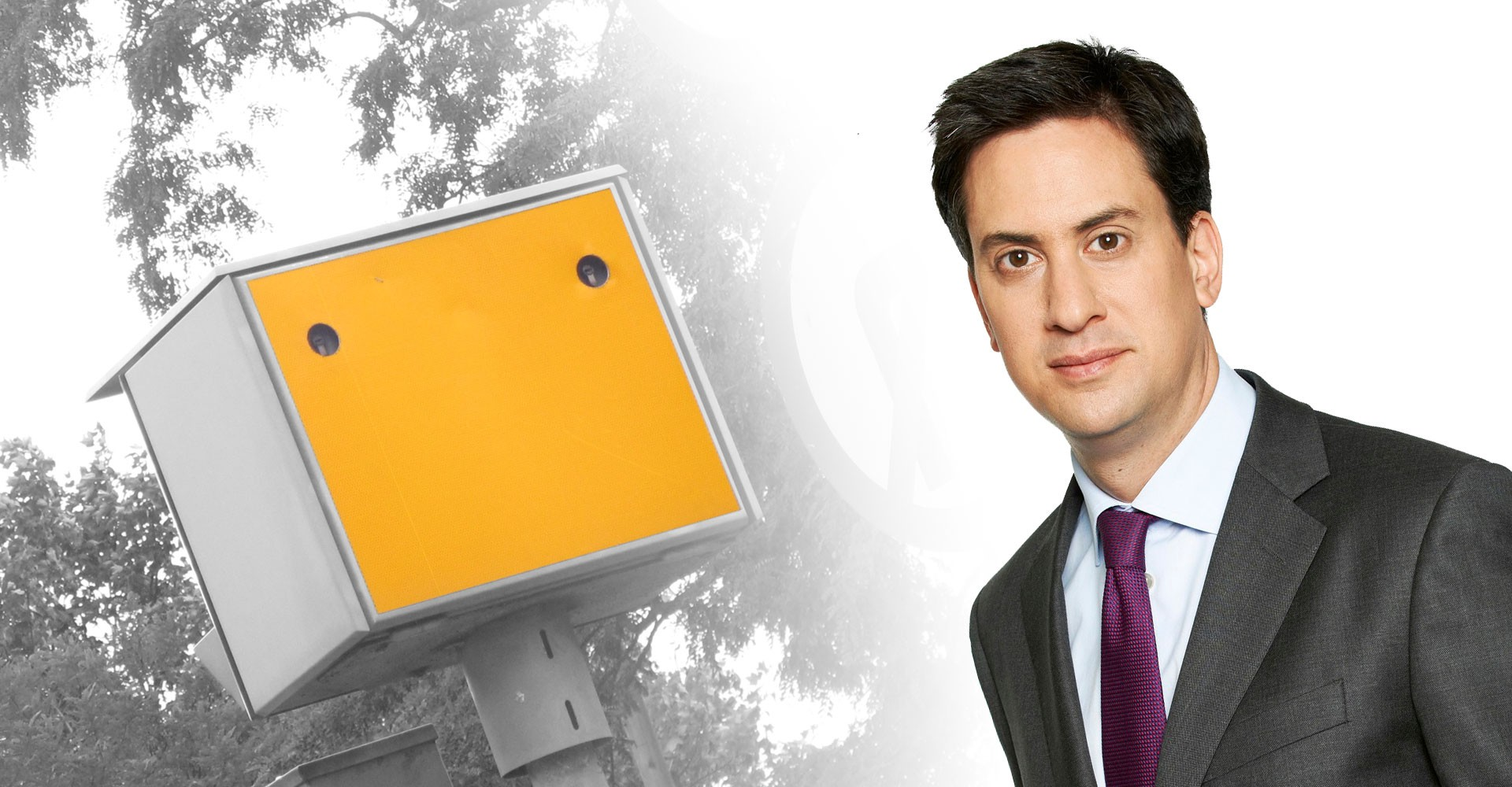 Miliband To Annihilate Speed Cameras Like Bacon Sarnies At A Photo Op