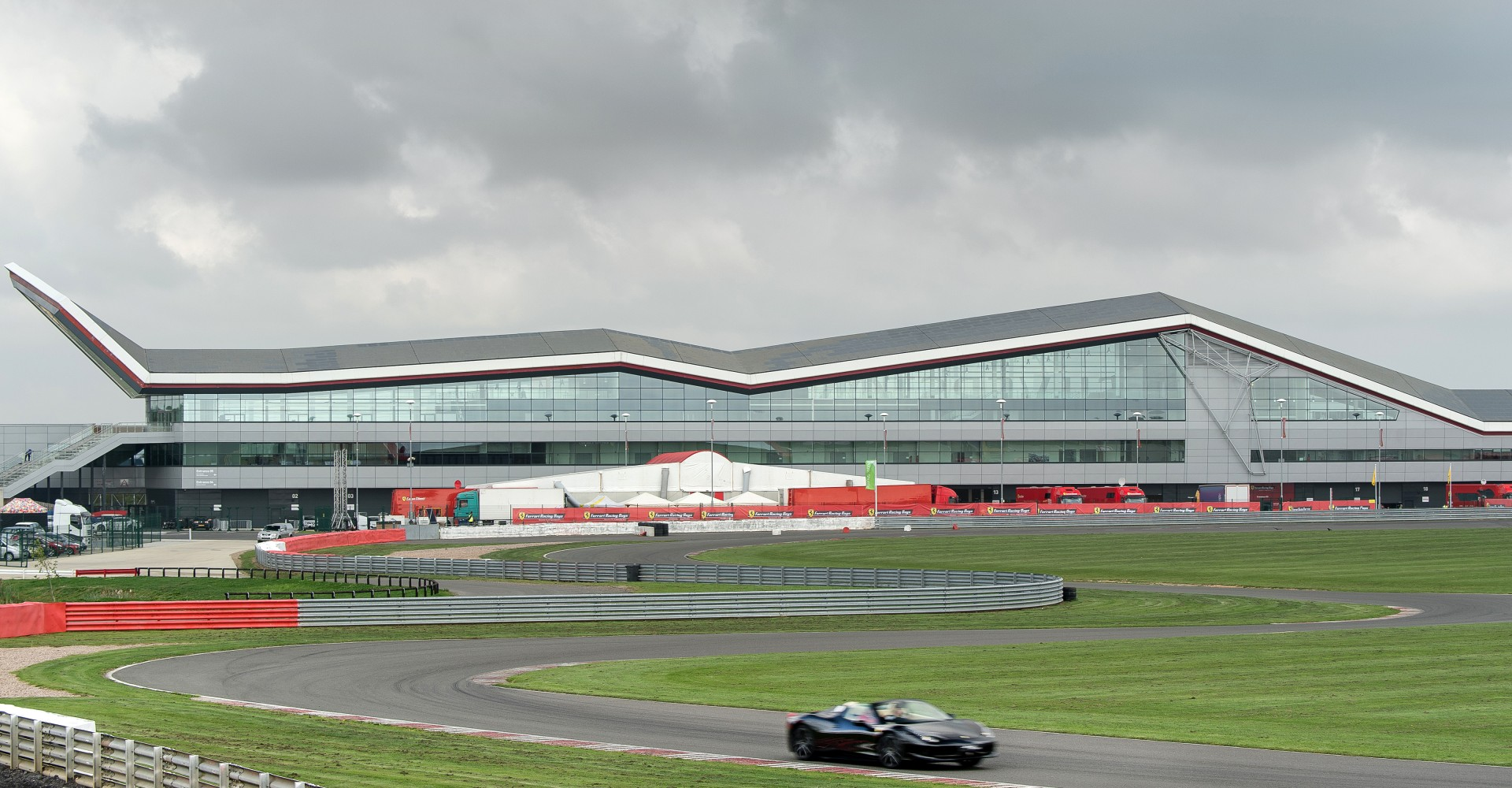 Silverstone Wing Loses Its Roof, But Racing Will Continue ...