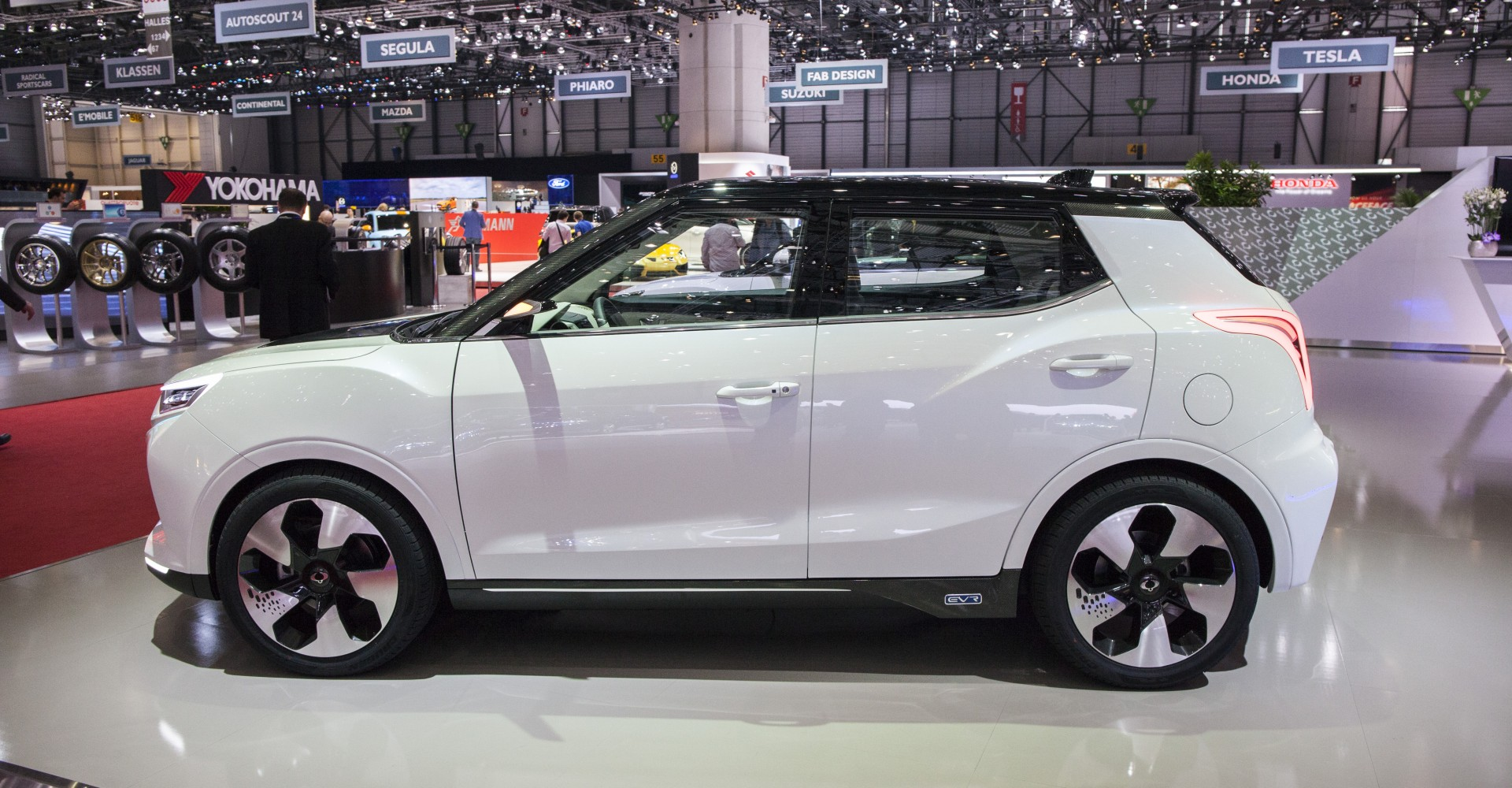 SsangYong Tivoli EVR Is A Carbon Fibre-Clad Crossover You'll Actually Want