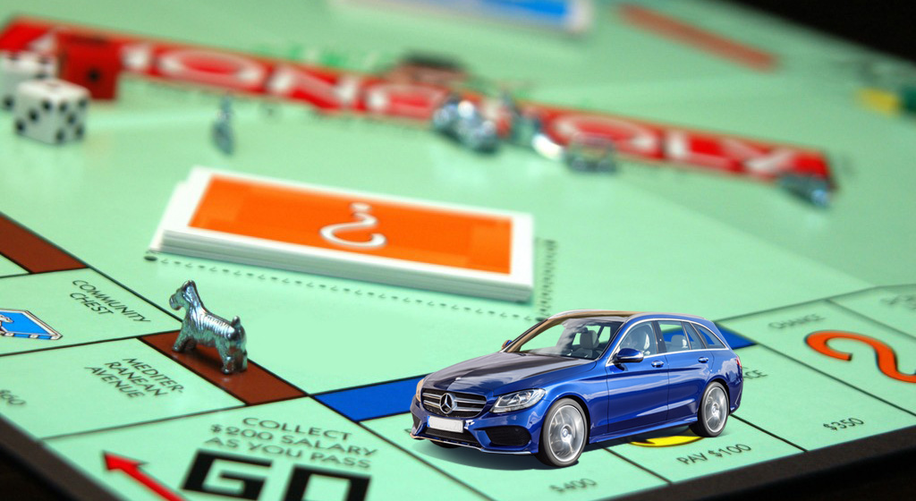 Mercedes Benz The Rules, Gets Fined For 'Playing Monopoly'