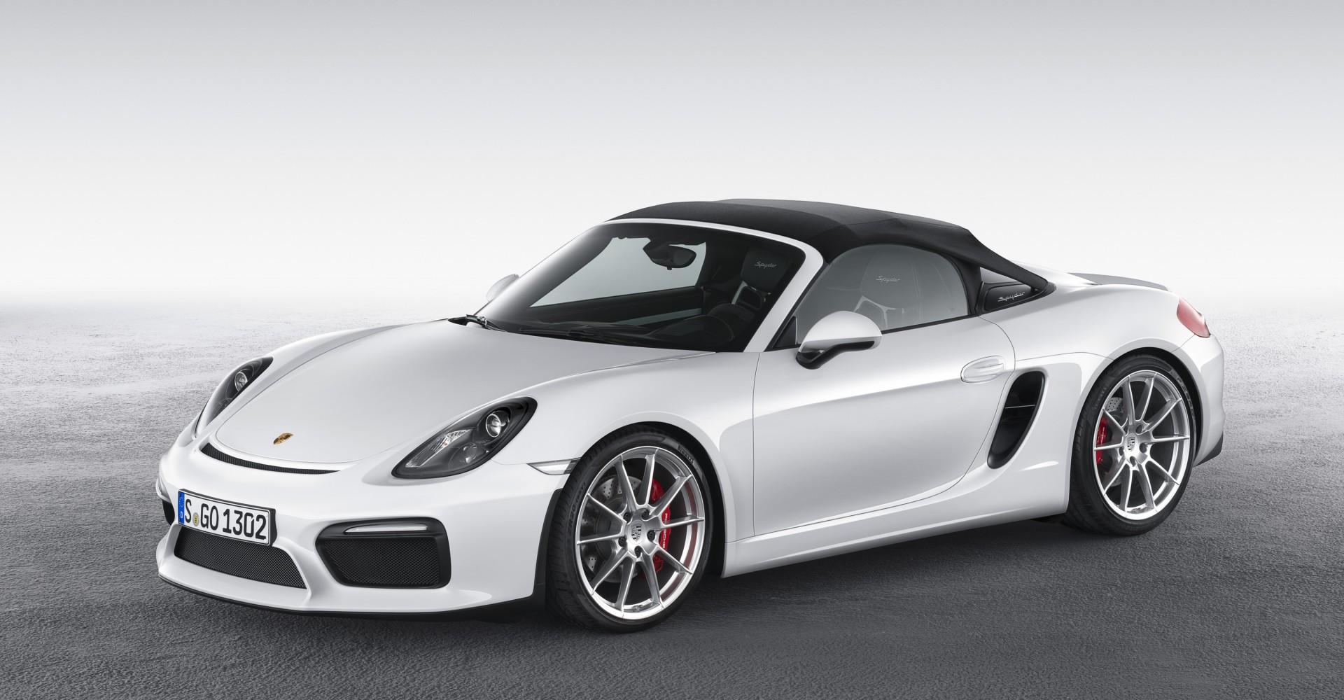 Porsche Reveals Boxster Spyder, With Added Lightness