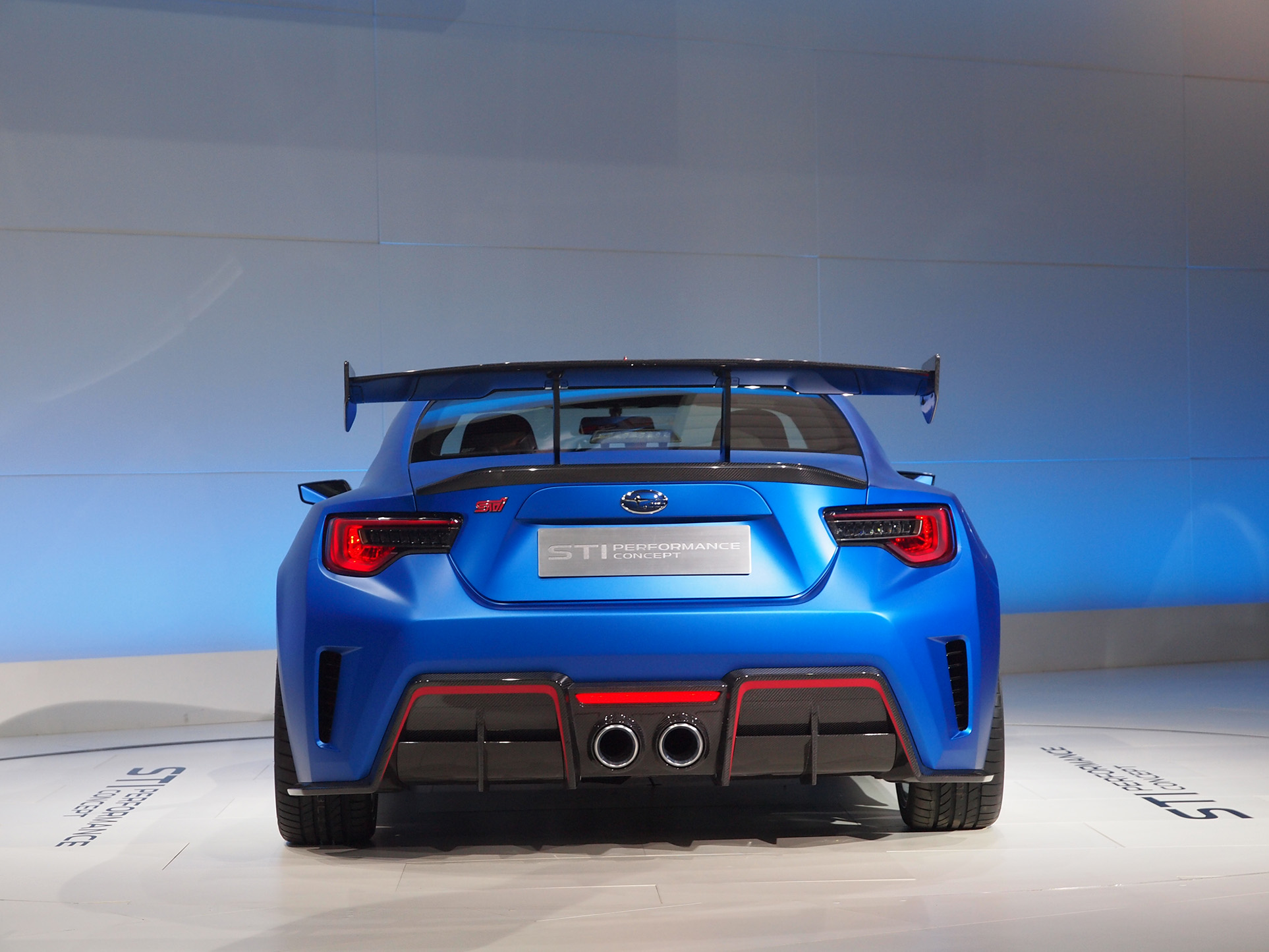 Subaru Finally Gives Brz The Muscle It Deserves Blue Paint