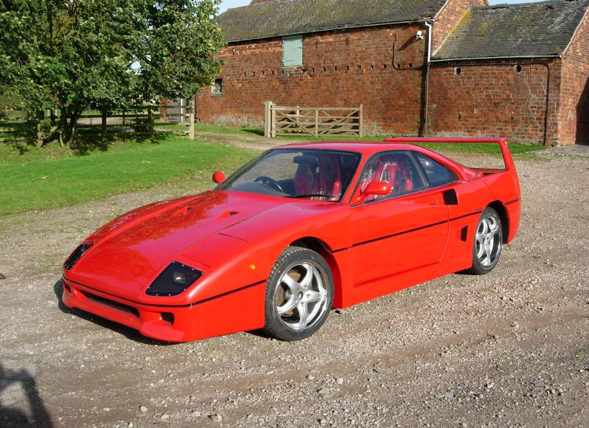 This Replica Ferrari F40 Makes Us Sad So Very Sad