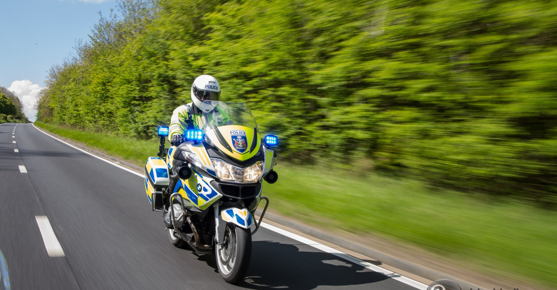 We Tag Along For A Shift With Motorcycle Cops