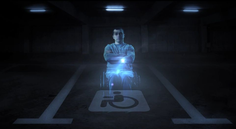 Russian Disabled Parking Bays Guarded By Holograms