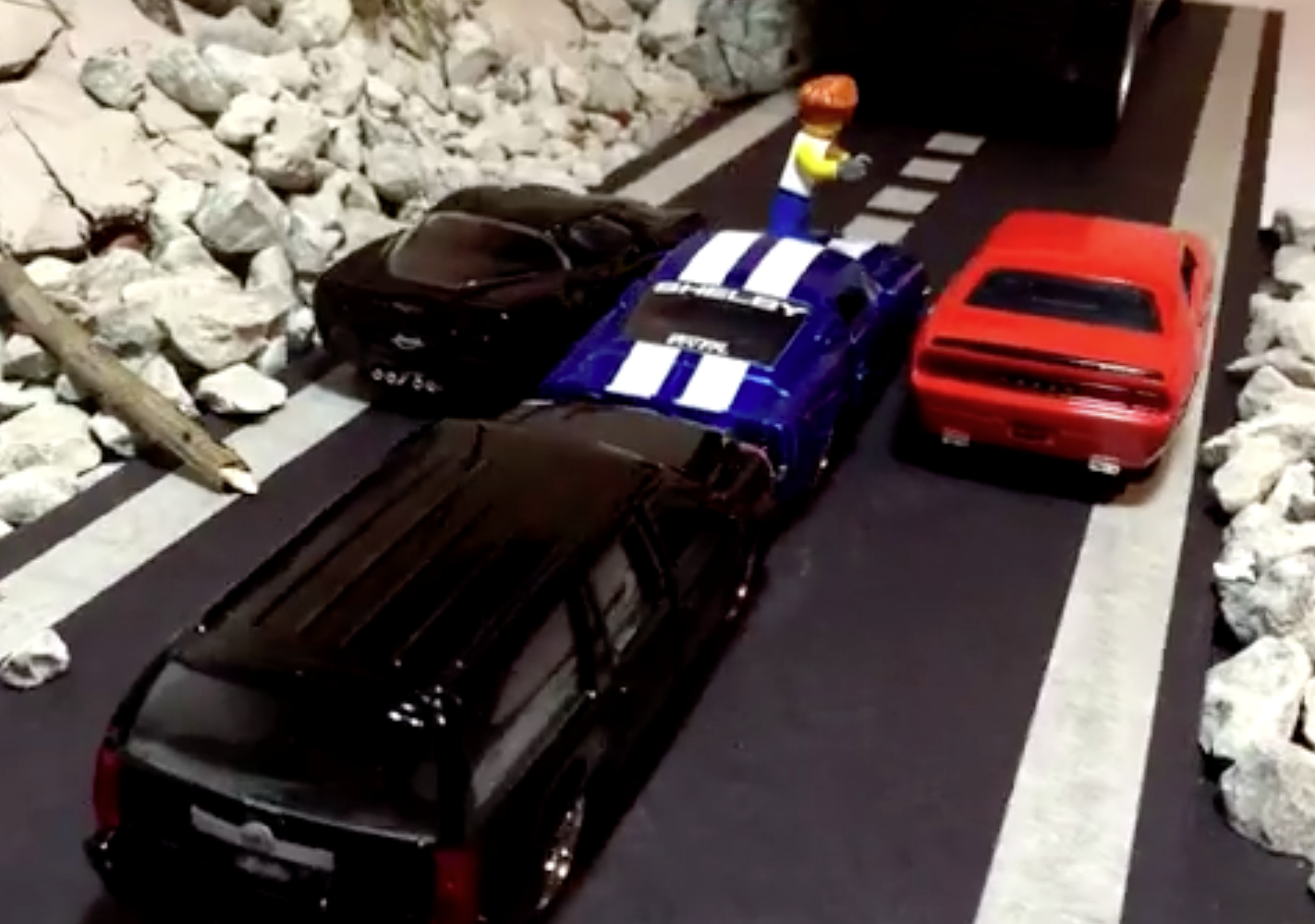 Lego Meets Fast And Furious 7 We Cant Stop Watching