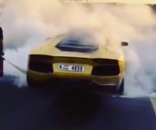 Lamborghini Loses Fight With Fire, Badly