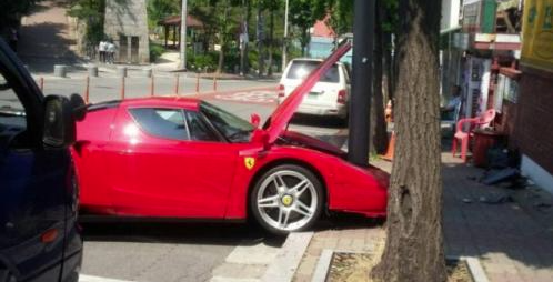 This Bent Ferrari Enzo Will Make Your Eyes Hurt
