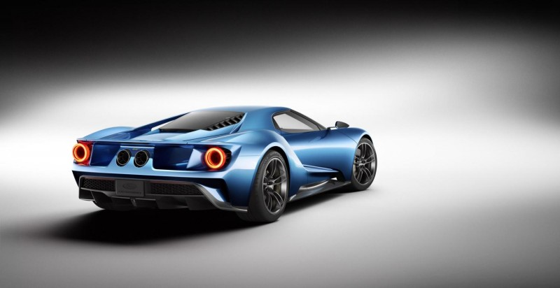 The GT will exhibit one of the best power-to-weight ratios of any production car