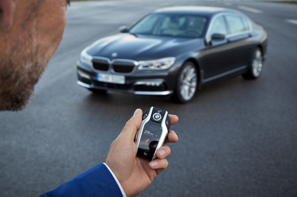 Key On New BMW 7 Series Is Cooler Than Cool