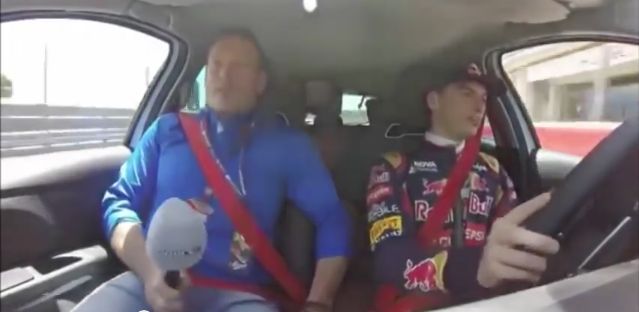 Racing Driver Takes Dad On Track, Dad Freaks Out