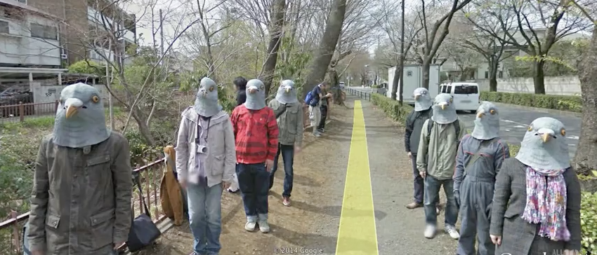 The Weirdest Things We've Spotted On Google Street View