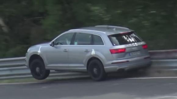 Audi SQ Test Driver Forgets How To Test Drive SuperUnleadedcom - Barrier audi
