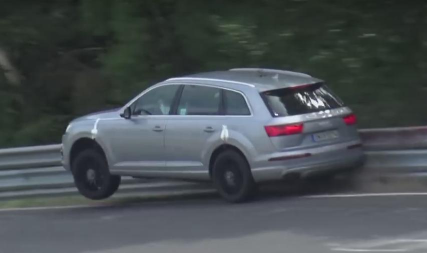 Audi SQ7 Test Driver Forgets How To Test Drive