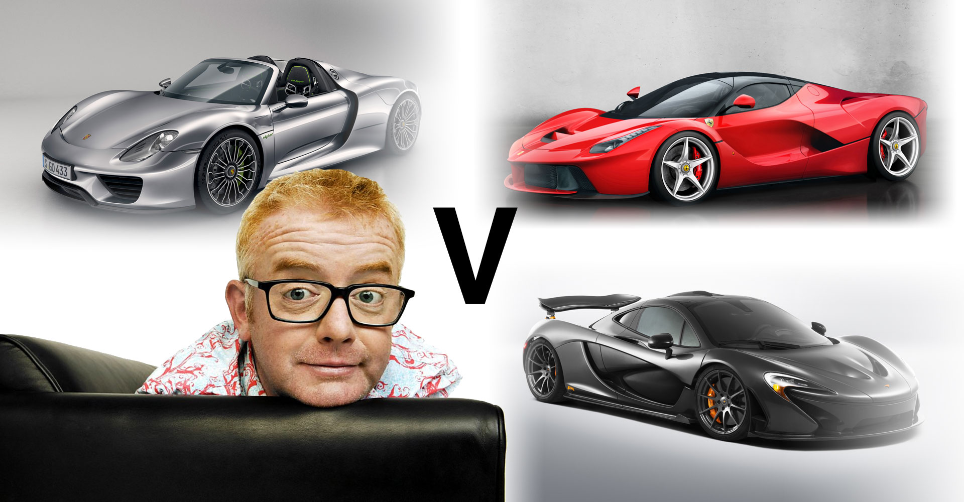 Will Chris Evans Be The Man To Pitch LaFerrari v P1 v 918 On Top Gear?