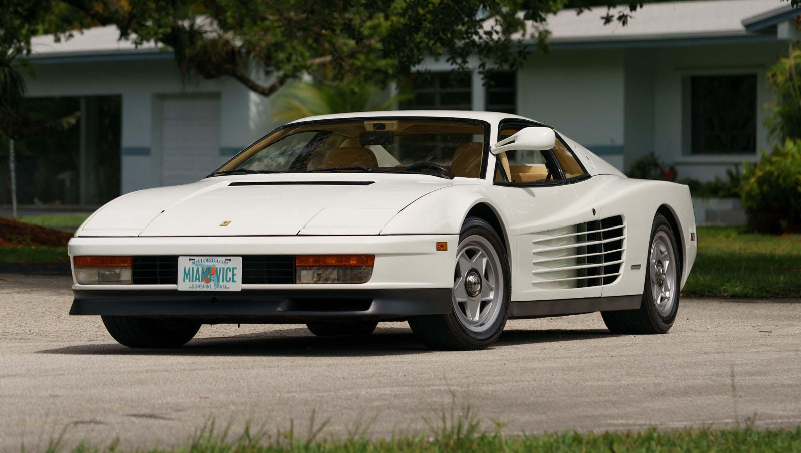 Miami Vice Testarossa Up For Auction, We Dream Longingly