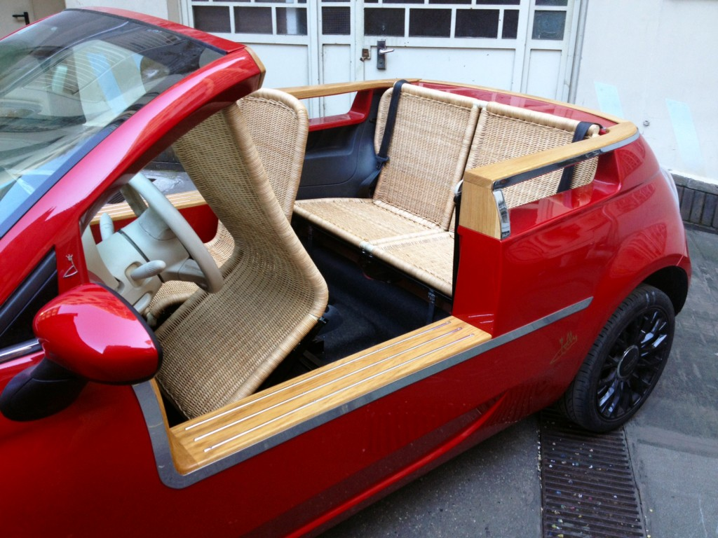 Fiat 500 With Wicker Seats That Ll Be 57 000 Please