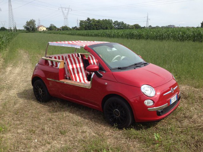Fiat 500 With Wicker Seats? That'll Be £57,000 Please