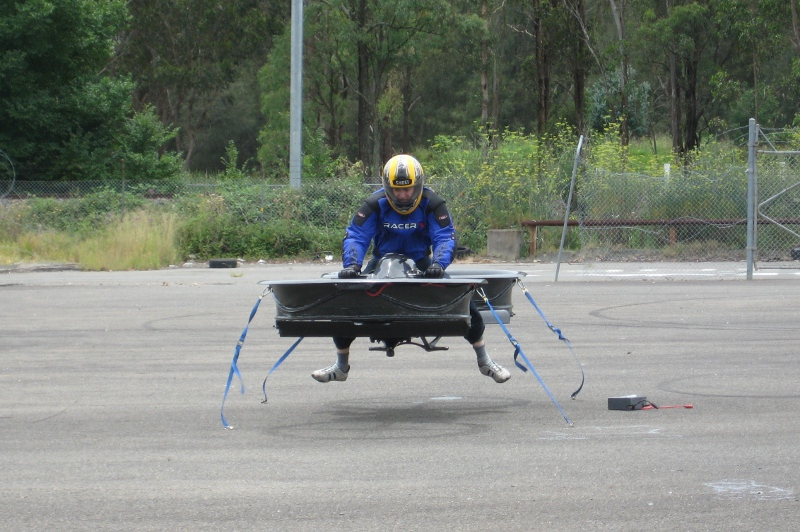 Fully Functioning Hover Bike Is Coolest Thing You'll See All Day