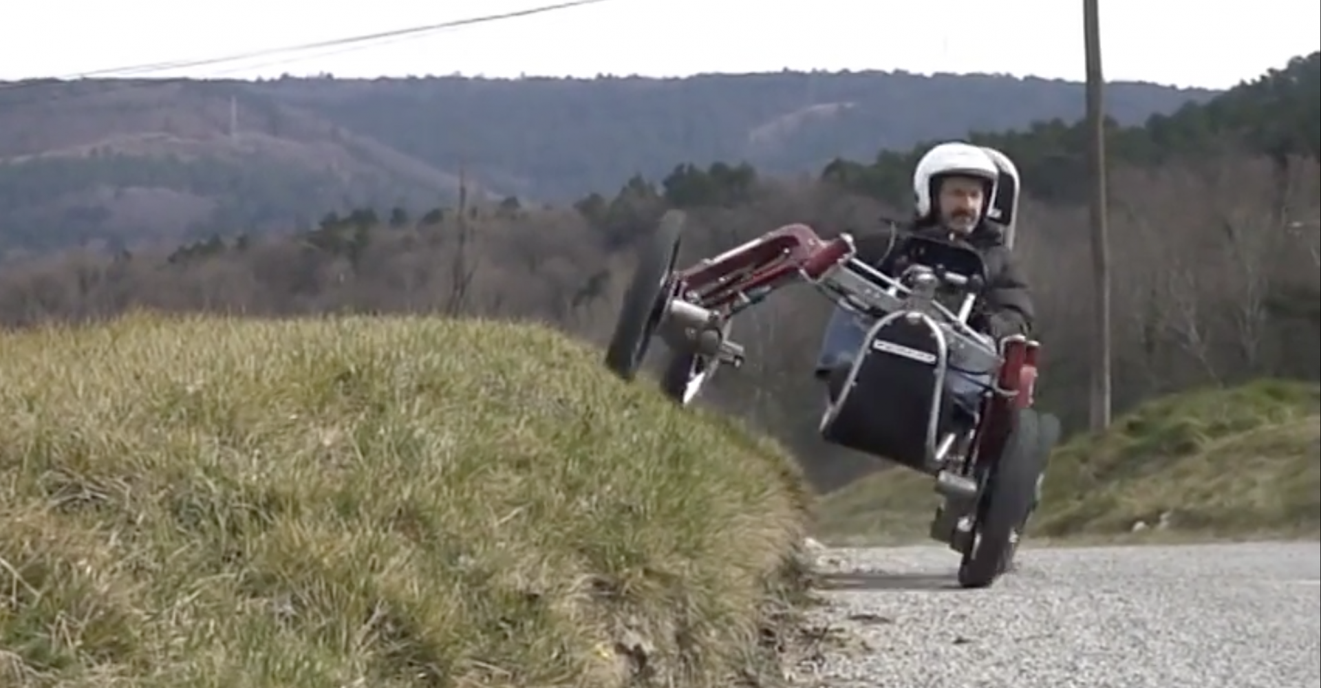 Spider Car Goes Where No Car Has Gone Before