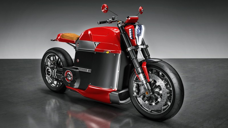 Tesla-Model-M-Motorcycle