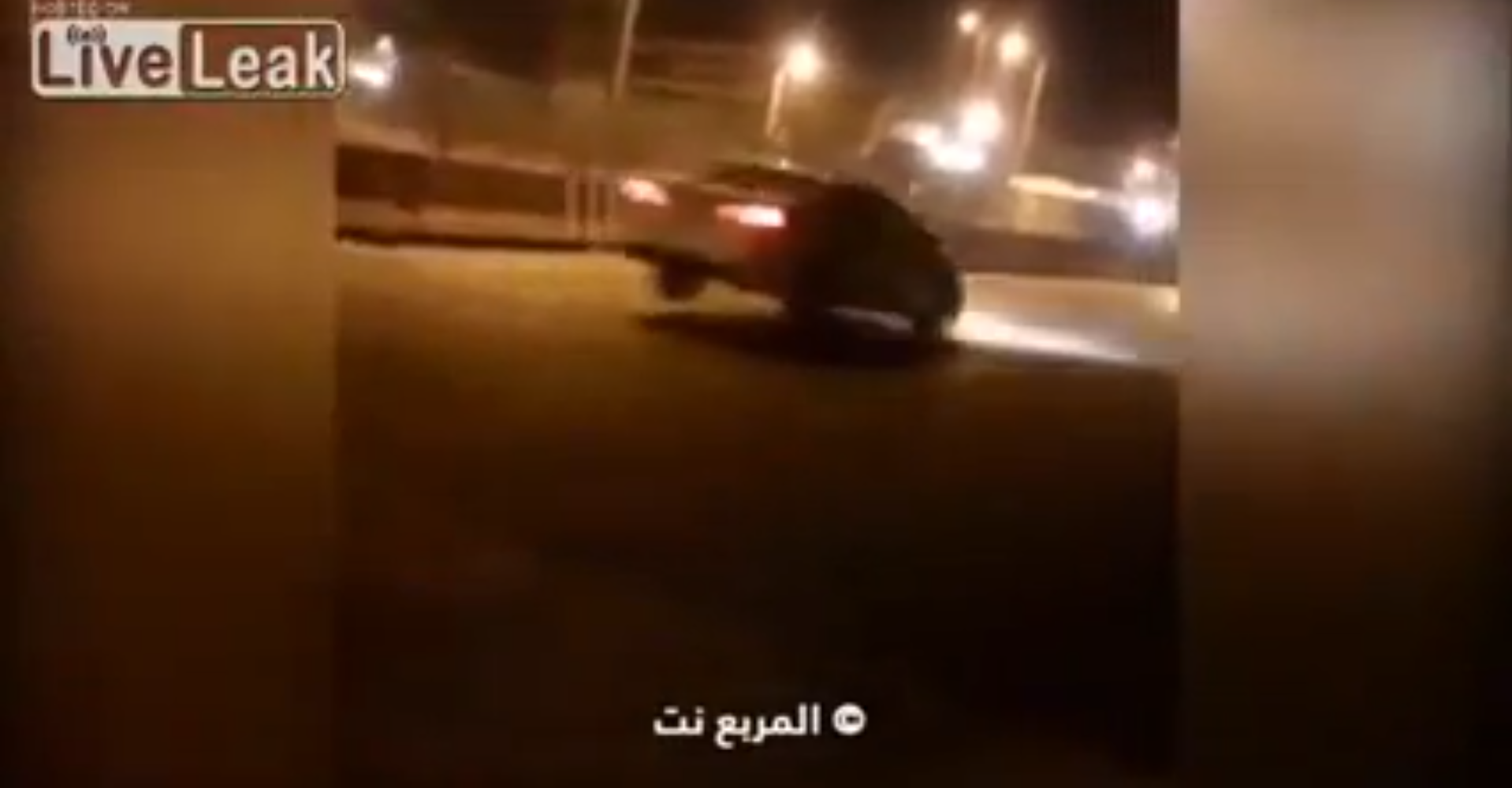'Invisible' Speed Bump Sends Saudi Drivers Flying