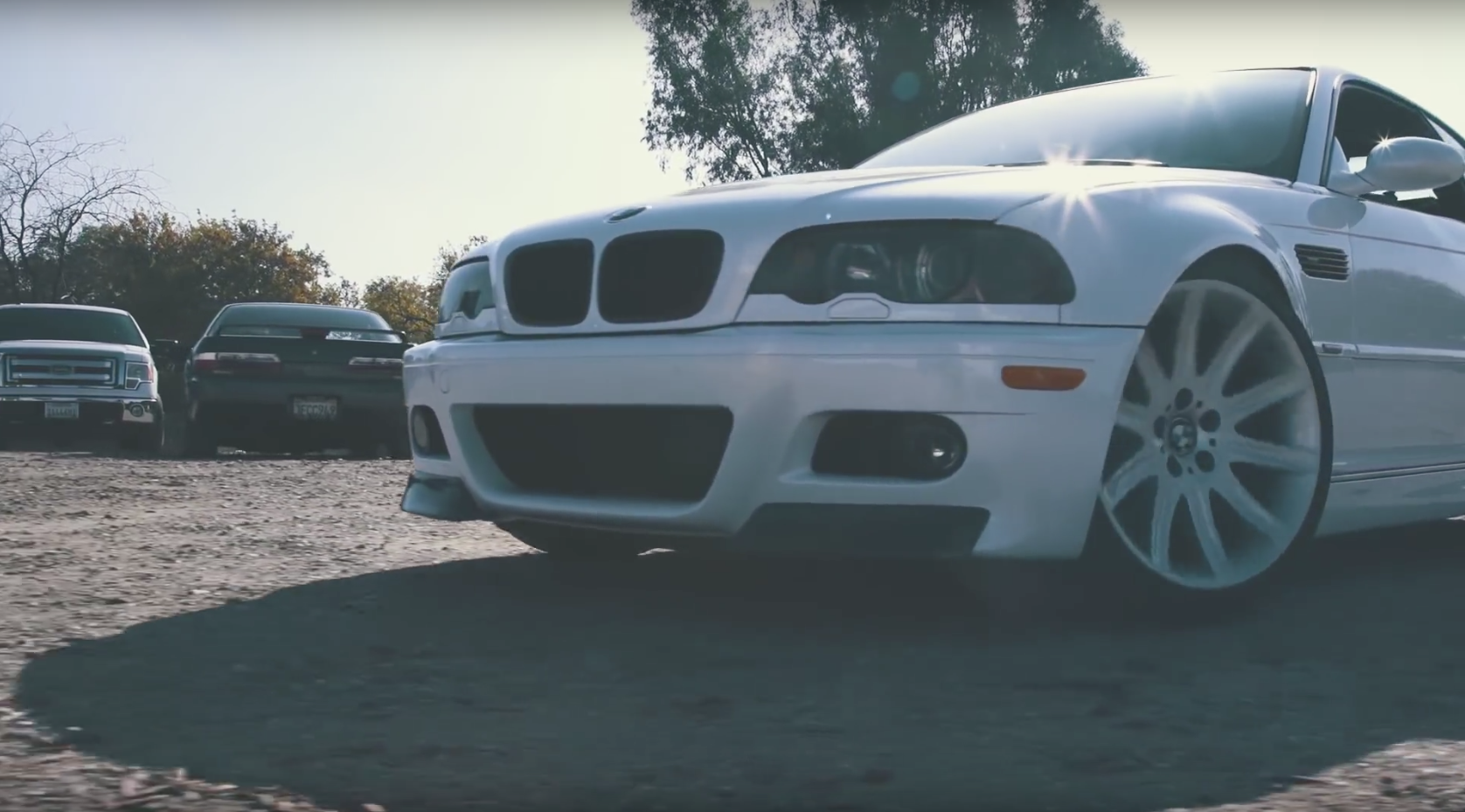 Cute Toddlers Love Going Sideways In Dad's E46 M3