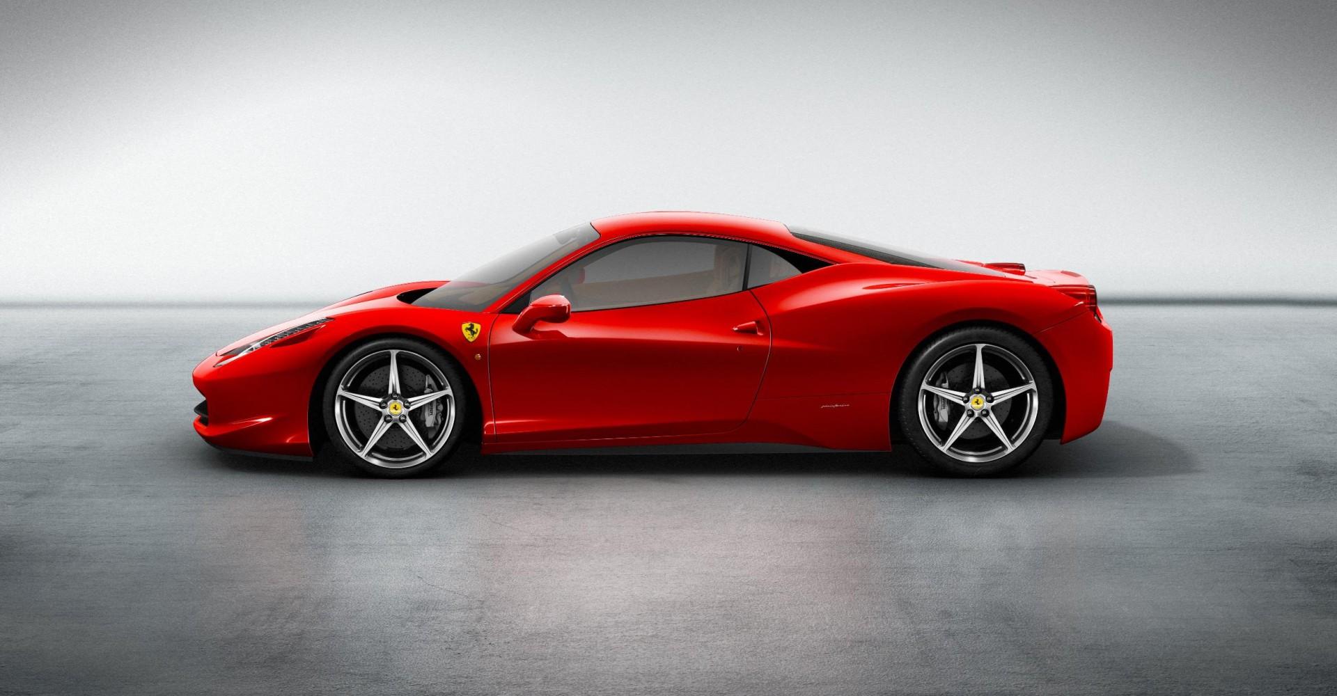 Man Crashes Rented Ferrari Into Taxi