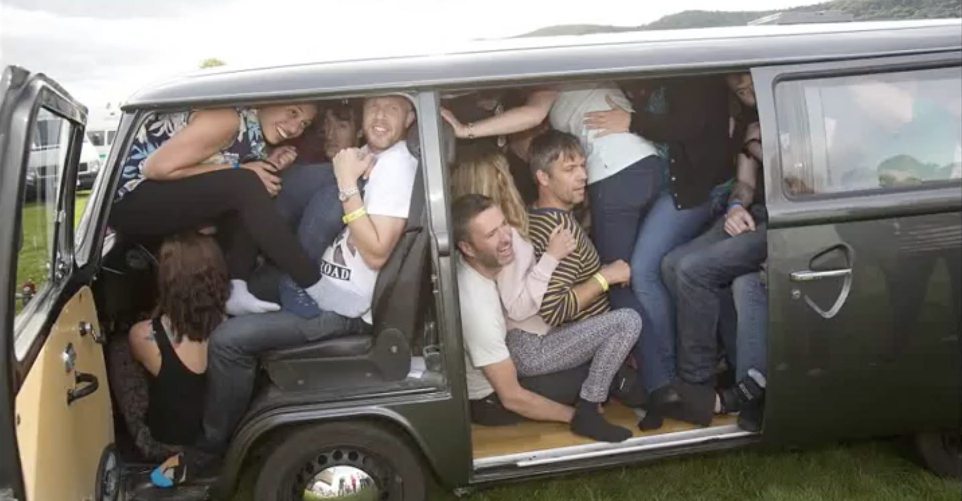 How Many People Can You Squeeze Into A Campervan?
