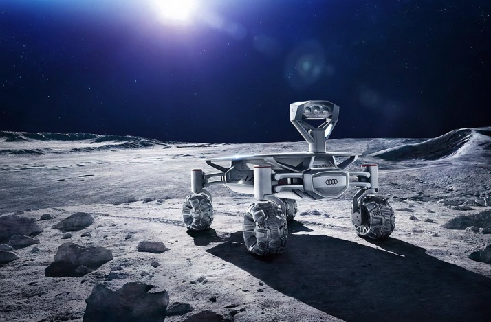 Audi Is Making A Moon Buggy To Go Off-Earthing In