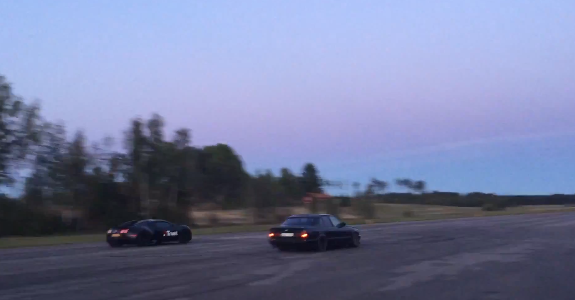 BMW M5 Leaves Bugatti Veyron For Dead In Drag Race