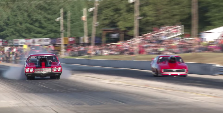 Having A Blowout At 150 Miles Per Hour May Put This Driver Off Drag Racing