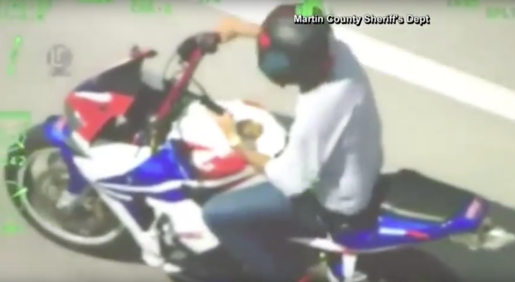 Biker Texts During Police Chase, Still Gets Caught