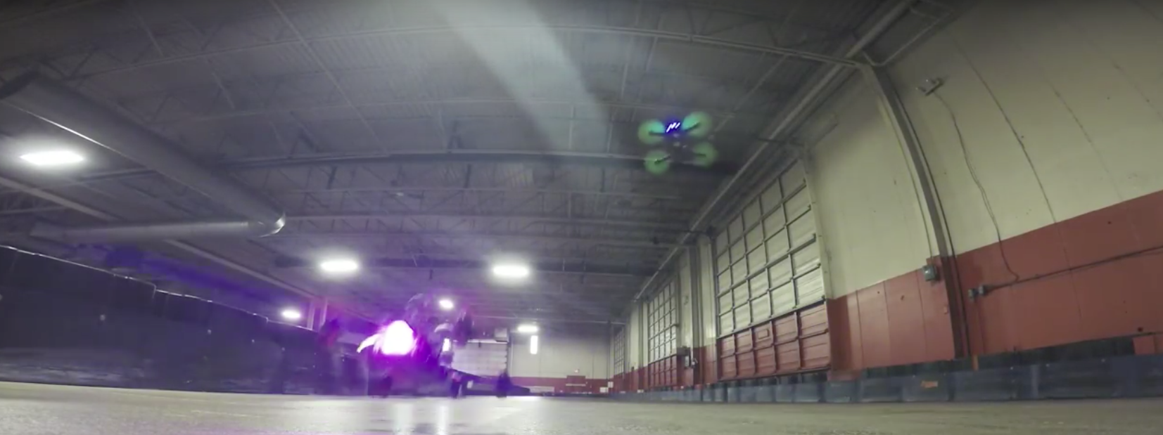 This Drone Racing Footage Will Make You Do A Sick