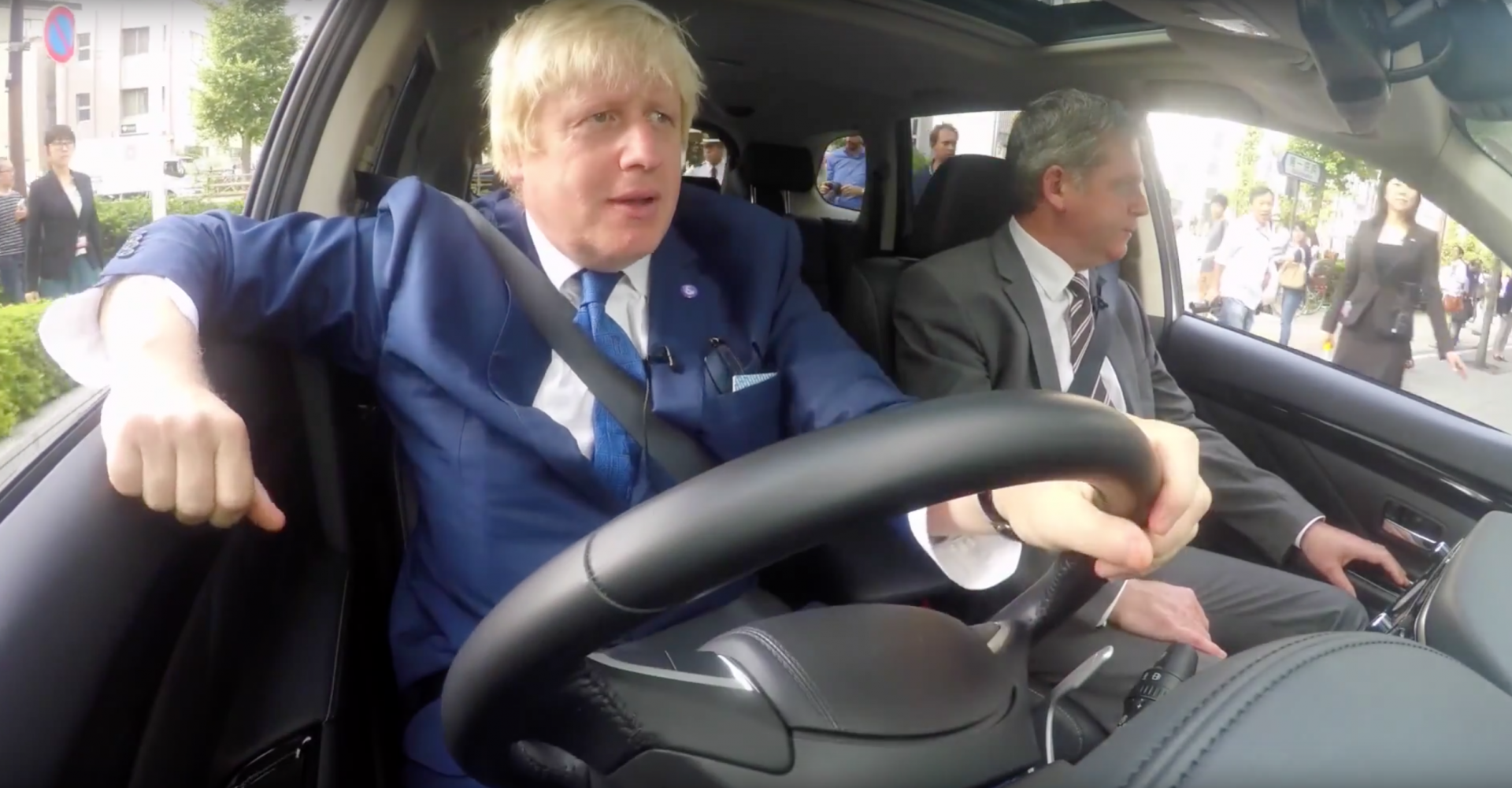 Video Of Boris Johnson In Tokyo Will Make Your Day