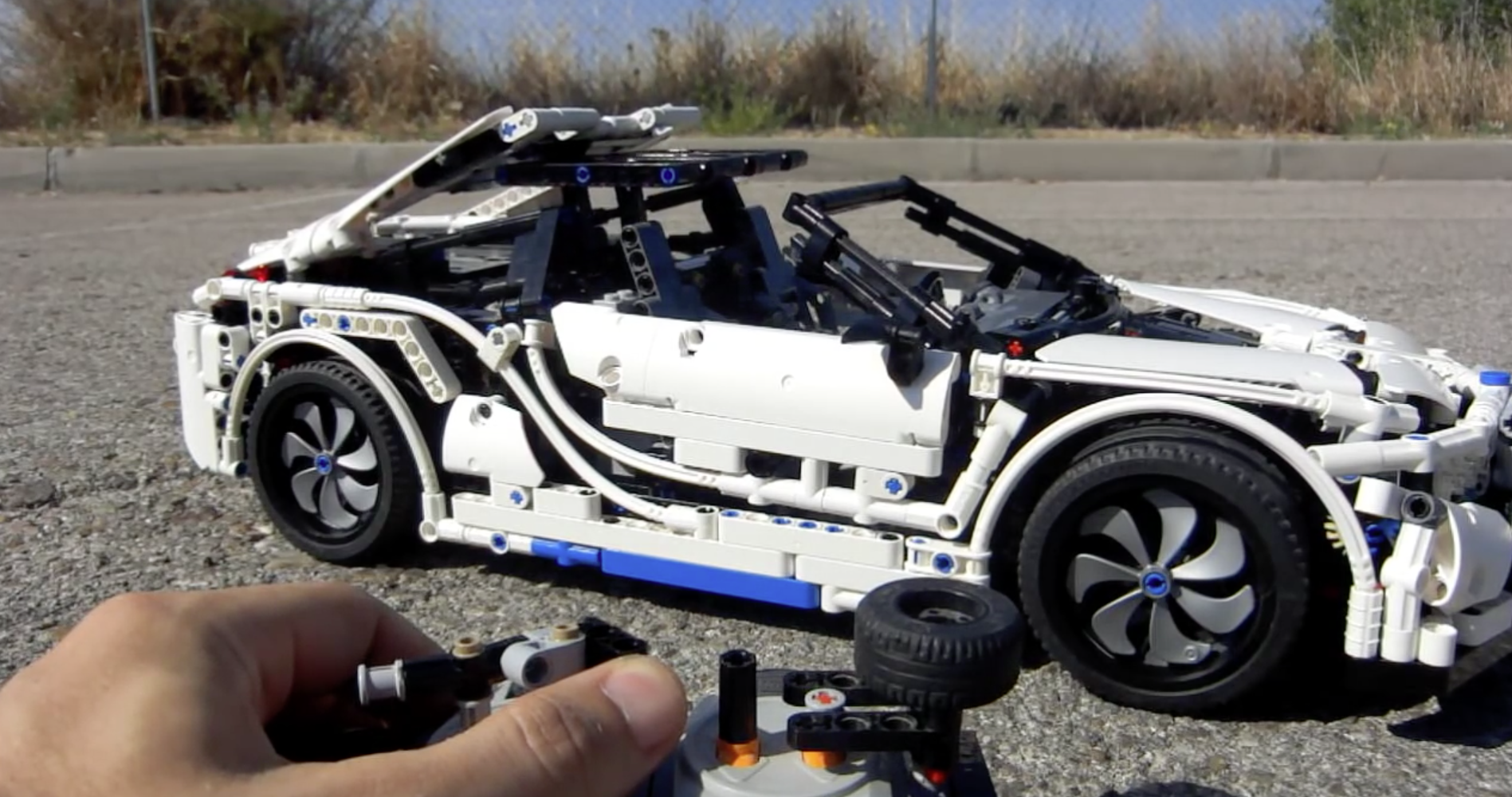 This Guy's Made A BMW i8 Out Of LEGO
