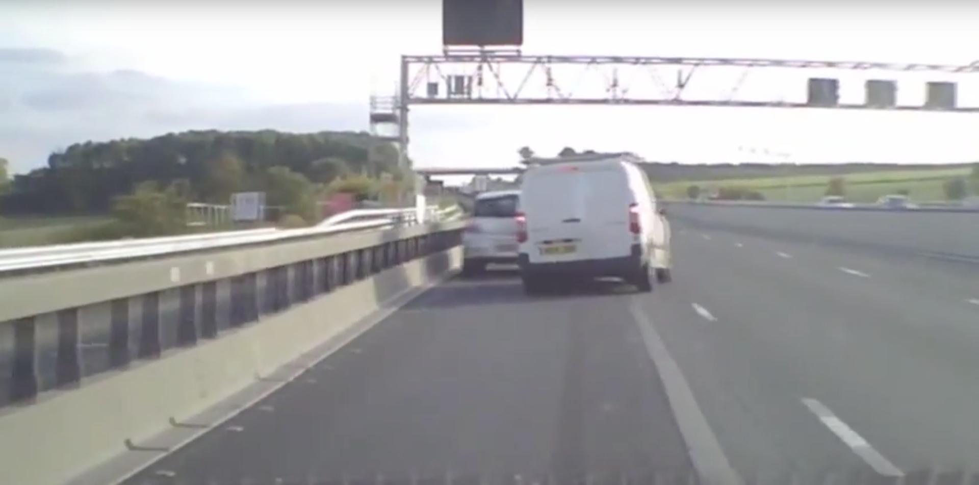 Watch This Heart-Stopping Near Miss In A 50mph Zone