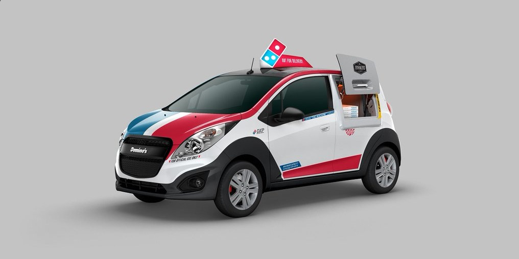 Amazing Delivery Car Makes Us Wish We Worked For Domino's