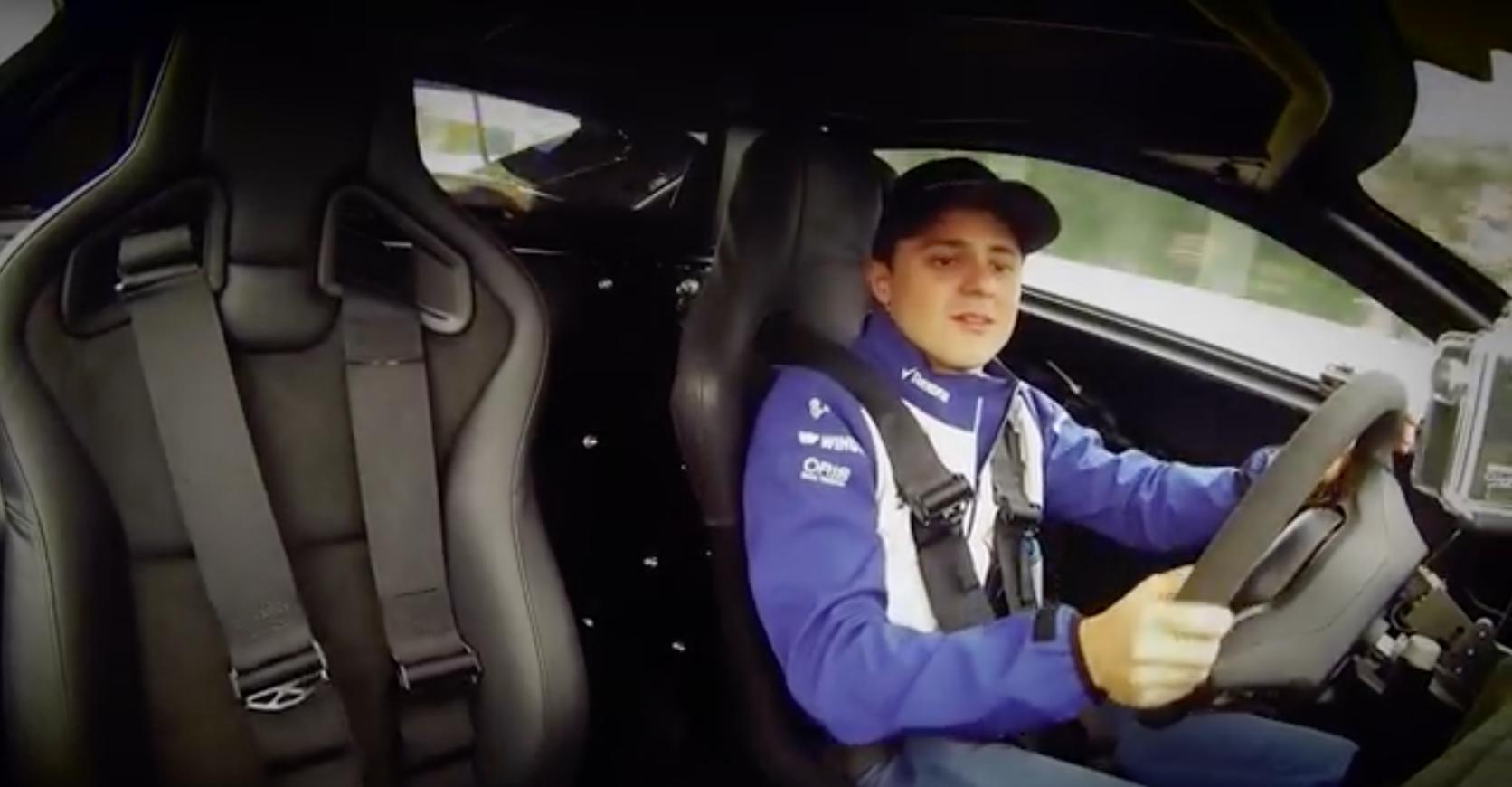 Felipe Massa Thrashes Jaguar C-X75, Becomes Bond Baddie