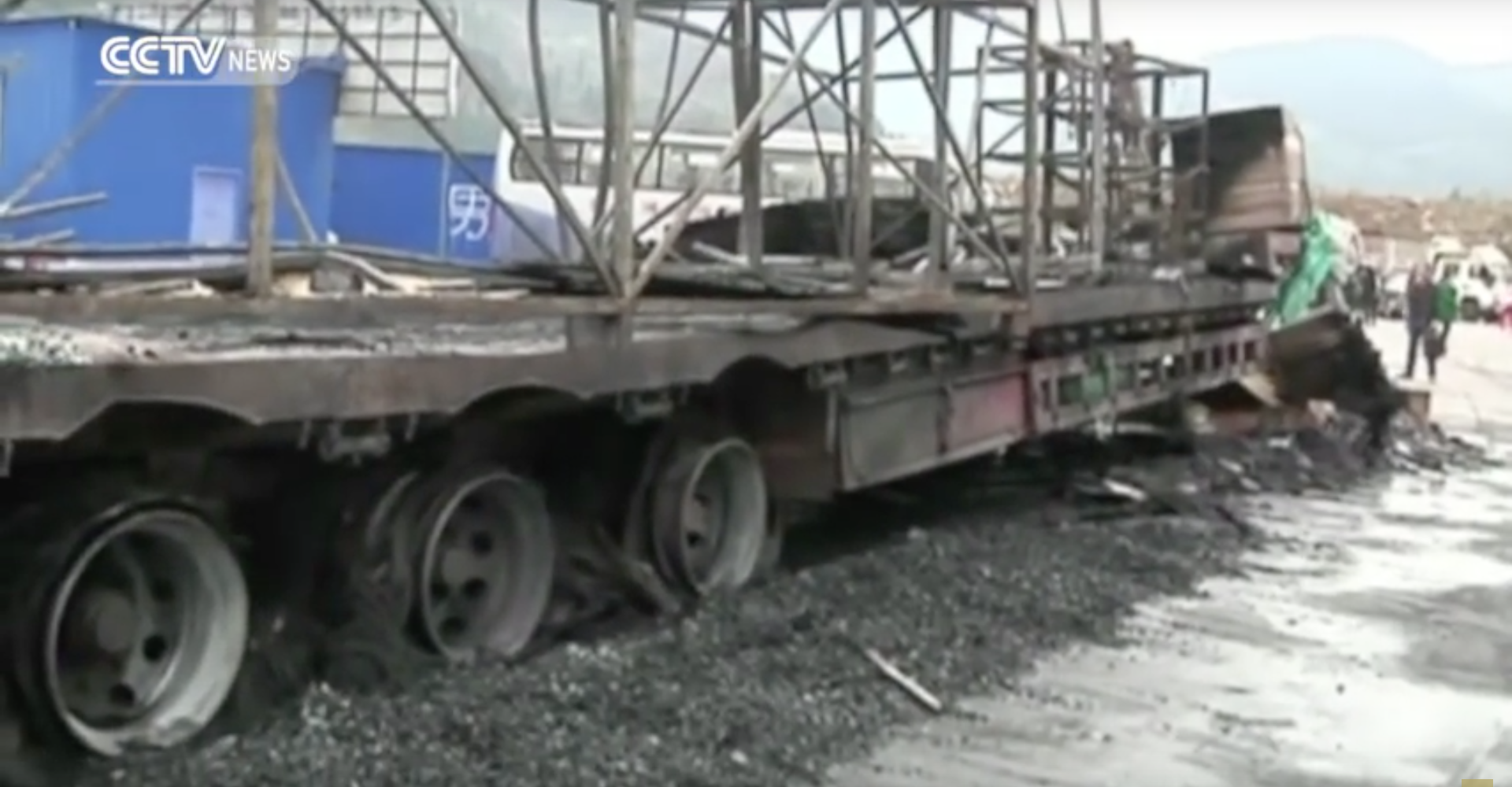 Heroic Truck Driver Prevents Disastrous Inferno In Chinese Tunnel