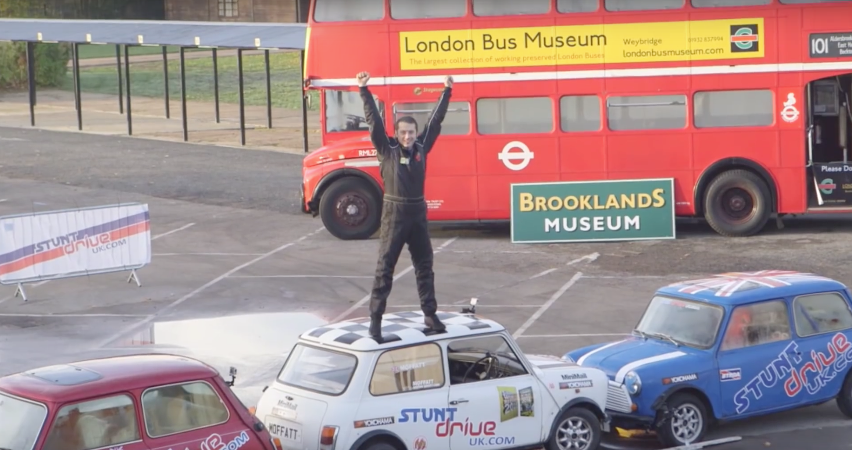 This Stunt Driver's Parking World Record Will Be The Coolest Thing You'll See Today