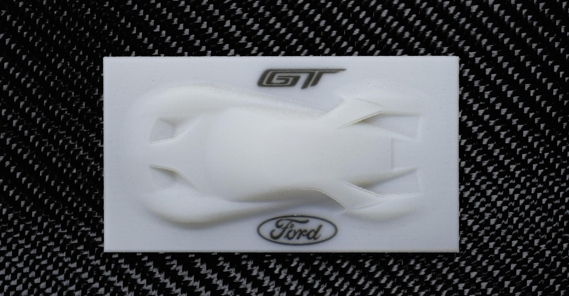 Want A Ford GT But Can't Afford It? Why Not Print One?