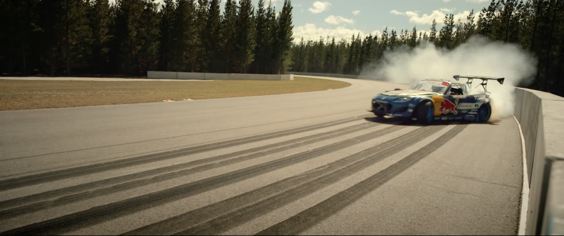1,000hp MX-5 Drift Car Gets 360-Degree Camera, Watching Is All-Round Magic