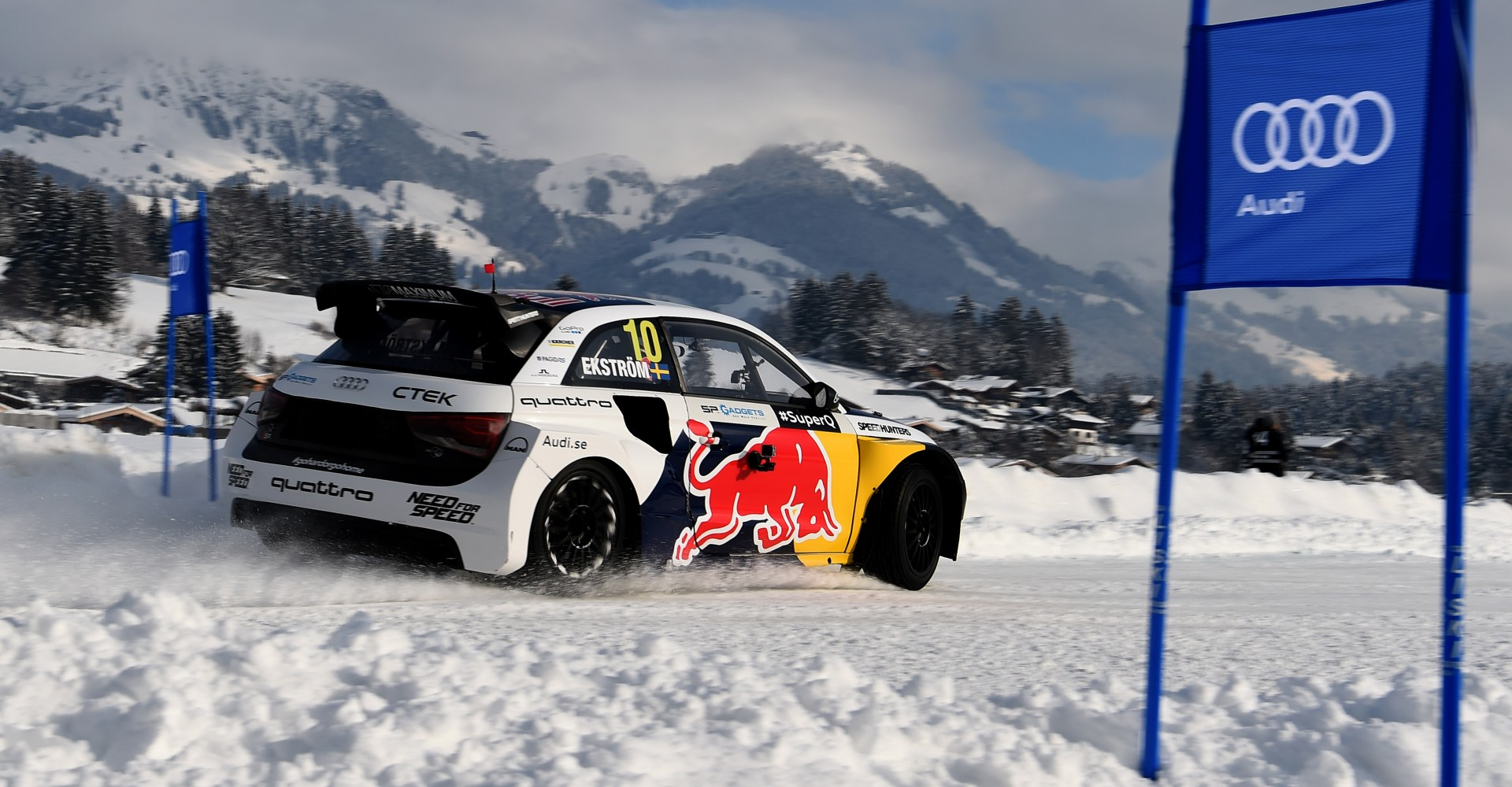 Audi Takes To Alpine Slopes In Copycat Snow-Driving Stunt