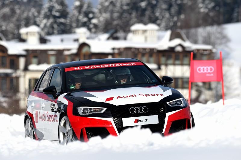 Henrik Kristoffersen (N), Audi RS 3 Sportback