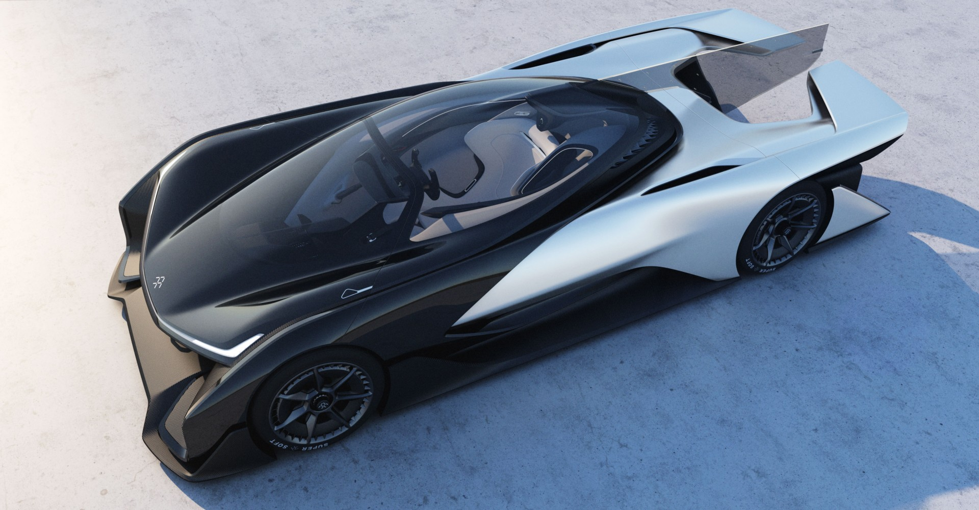 Faraday Future Concept Car Is Unveiled, Looks Totally Space Age