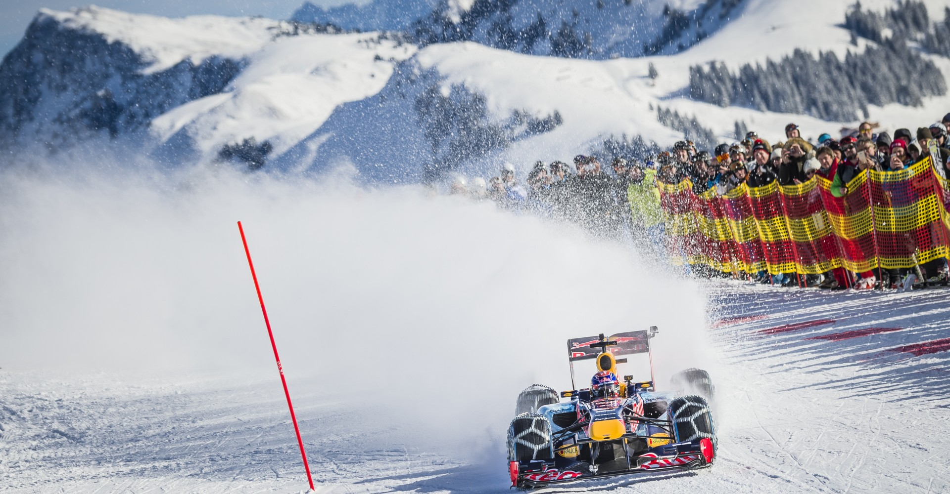 Formula One Prodigy Takes To The Snow In RB7, Looks Ultra Cool