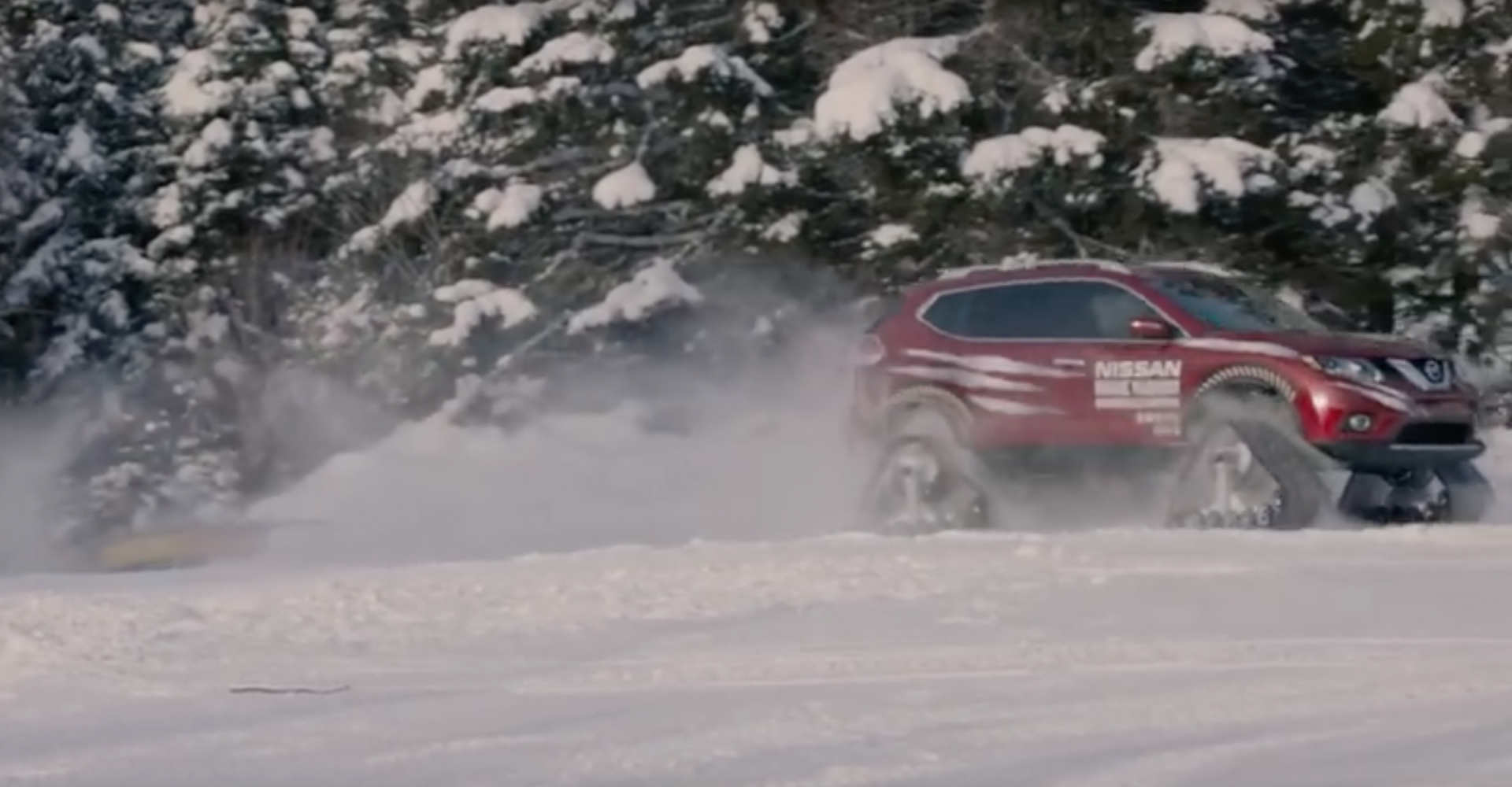 This X-Trail Snowmobile Is All Kinds Of Awesome, Pity It's Just A Prototype
