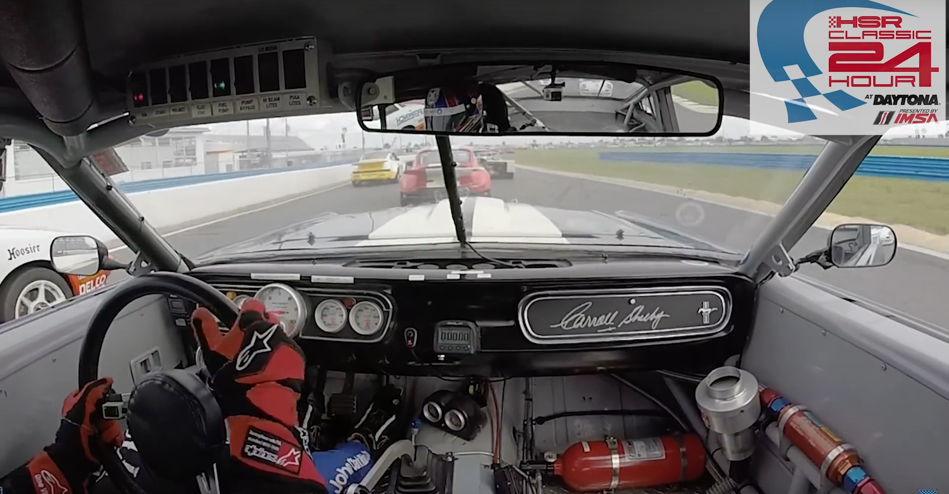 This British Racer Hands Out A Driving Lesson To Remember At Daytona